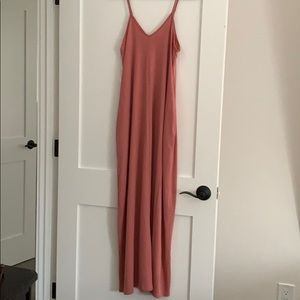 Dresses & Skirts - Rose pink Maxi with pockets